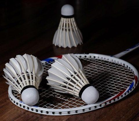 badmintonketcher og badmintonbolde